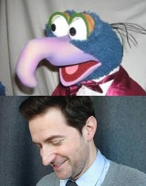 Gonzo and Richard Armitage, renowned entertainers, twins, separated at birth.