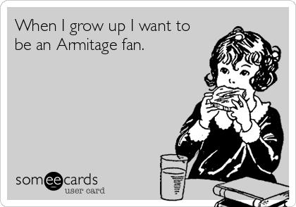 Armitage fan
