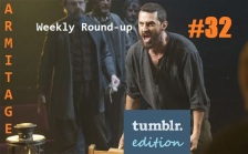 Round-up header crucible 32