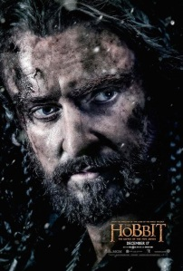 Thorin Oakenshield character poster for The Hobbit - Battle of the Five Armies, 2014