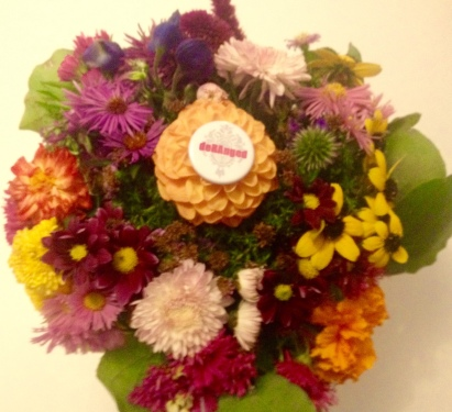 Flowery badge by Richardiana