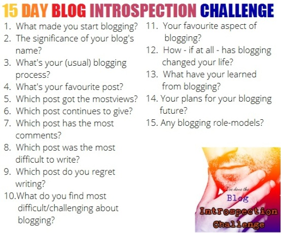 blog intro challenge