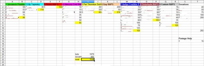 Bid Update Excel