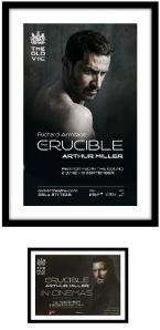 framed crucible poster