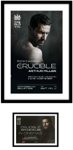 framed crucible poster