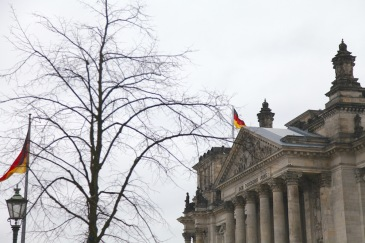 Reichstag - the seat of the German parliament