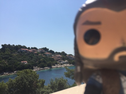 Oi, *I* should be in focus, not the view!