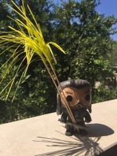 """Thorin says: """"Weird broken umbrella"""""""