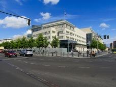 US Embassy from Ebertstraße