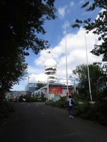 Main listening towers
