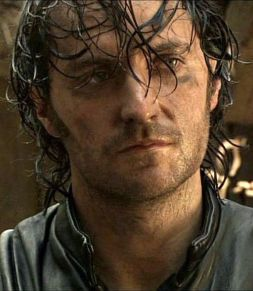 Guy of Gisborne wet