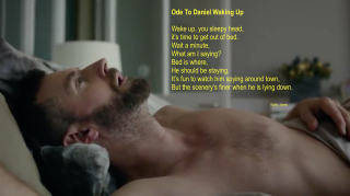 Ode to Daniel waking up