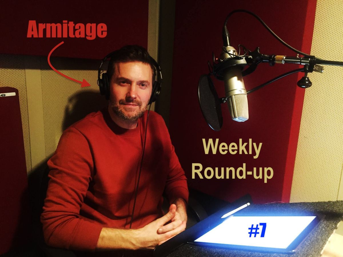 2018 Armitage Weekly Round-up #7