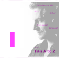 Finally Back - The Fan A to Z #I