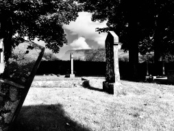 Drumcliff Churchyard, where WB Yeats is buried