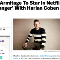 Richard To Lead New Netflix/Harlan Coben Series