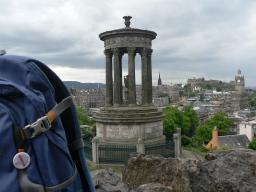 Nordlicht in Edinburgh