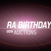 #2019RABirthdayAuctions Start Tomorrow