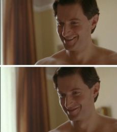 Percy smiles