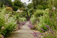 In the kitchen garden of Glenveagh