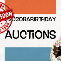 #2020RABirthdayAuctions - One Week From Now