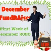 #2020DecemberFundraiser Kick Off
